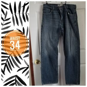 Levi's loose straight jeans - 34W x 32L
